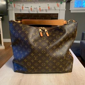 Authentic Louis Vuitton Sully MM
